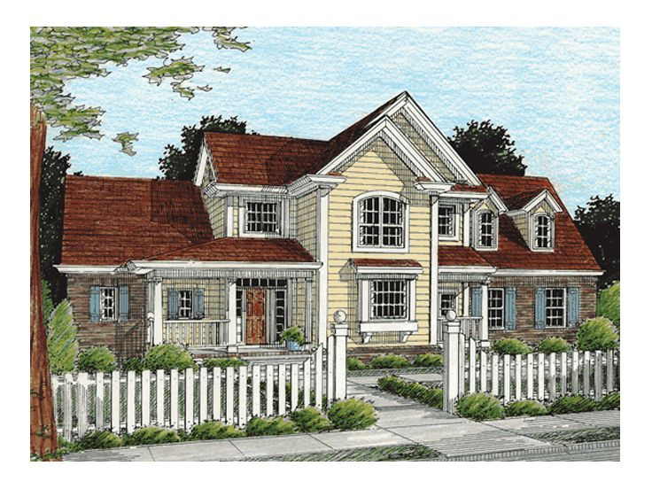 Family House Plan, 059H-0056
