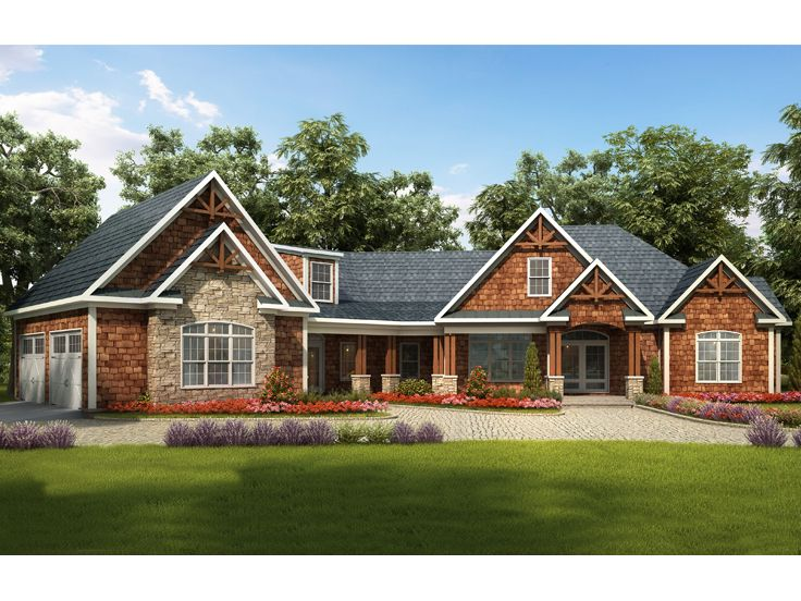 Craftsman Home Plans Luxury Craftsman House Plan 019h