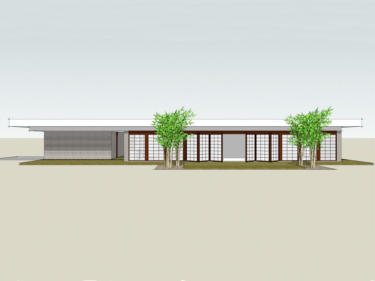 Contemporary House Plan, 052H-0004