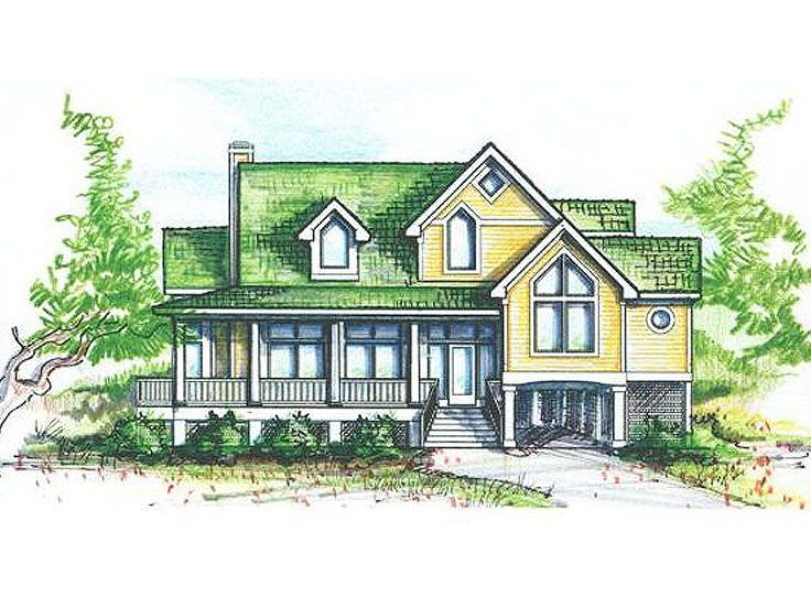 Country House Plan, 041H-0021
