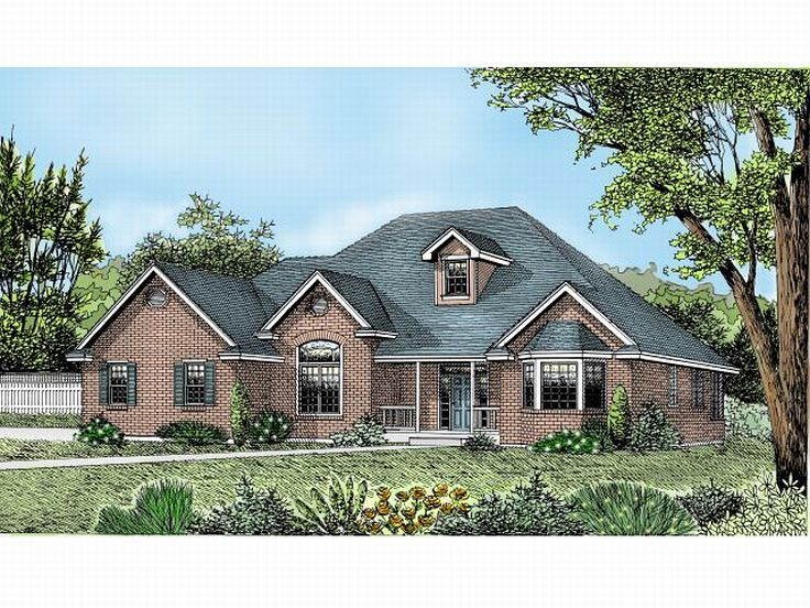 One-Story House Plan, 026H-0092