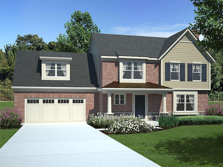 Two-Story Home Design, 046H-0062