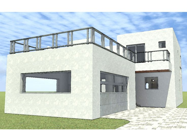 Narrow lot house plans 2 bedroom narrow lot house plan Narrow modern house plans