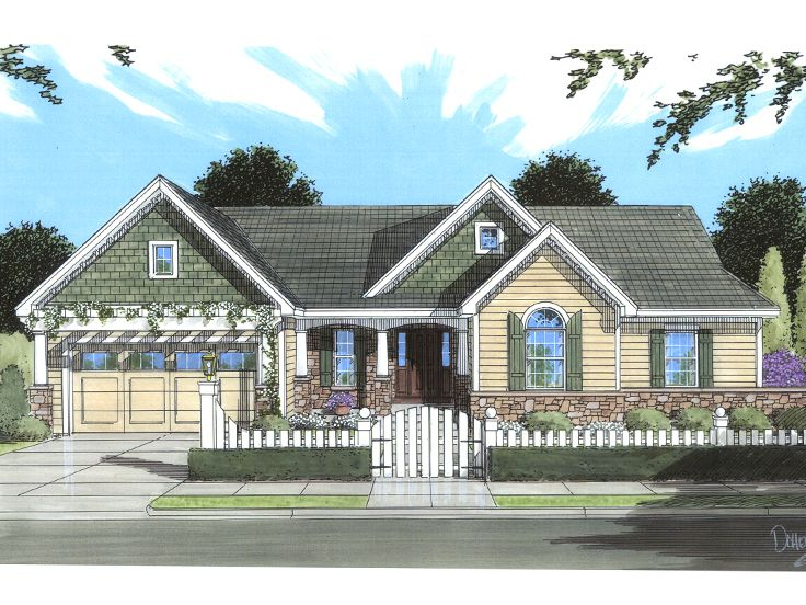 Affordable House Plan, 046H-0054