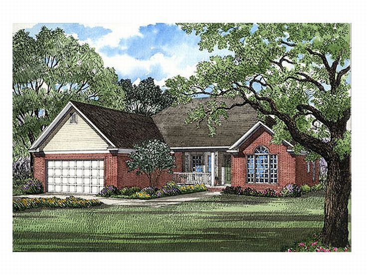 Traditional Home Plan, 025H-0020