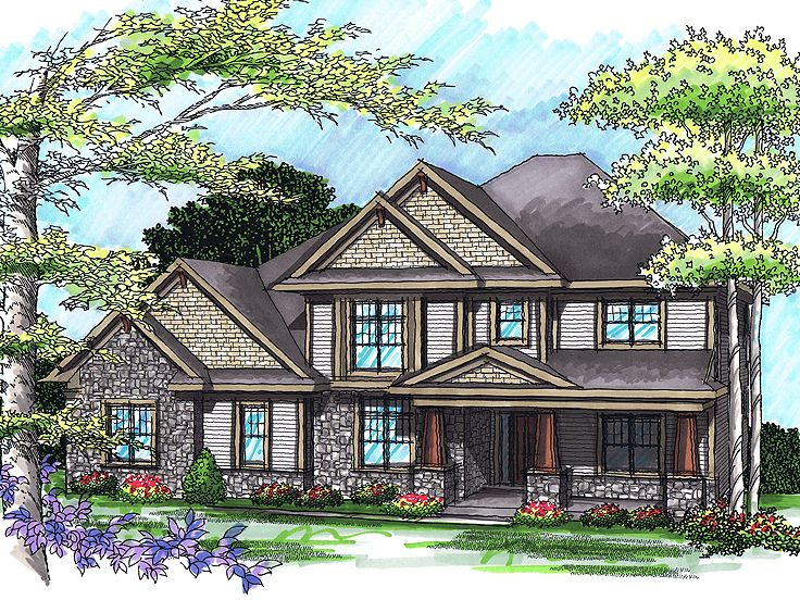 Luxury House Plan, 020H-0247
