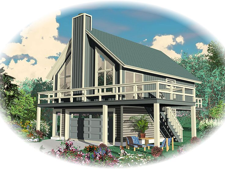 Garage apartment plans garage apartment plan or vacation for Southern living garage apartment plans