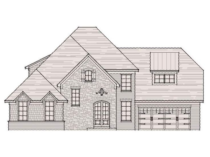 Two-Story House Design, 061H-0089