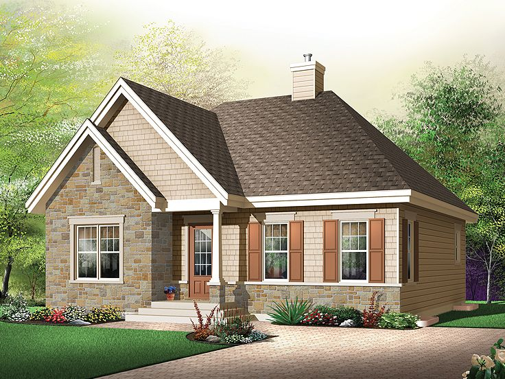 1-Story Home Plan, 027H-0157