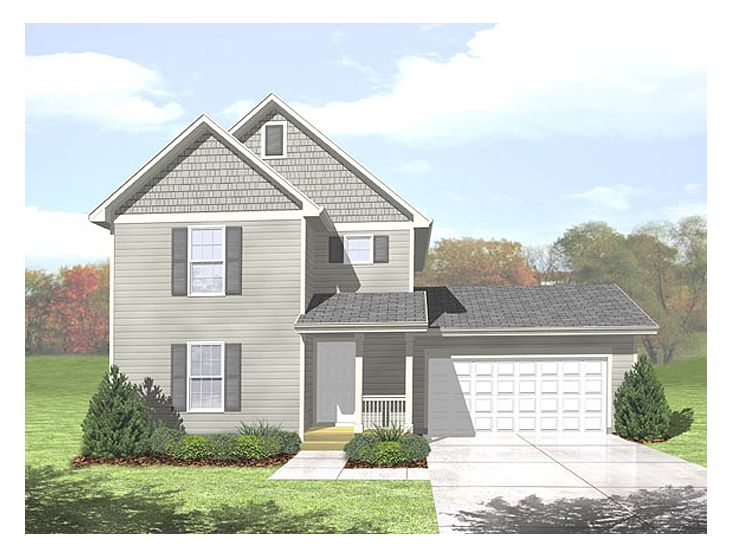 2-Story House Plan, 016H-0055