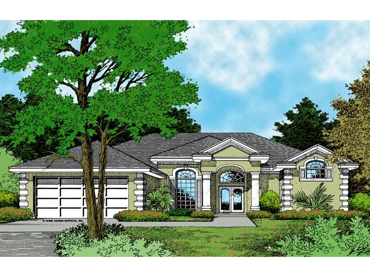 Plan 043h 0118 find unique house plans home plans and for Big one story houses