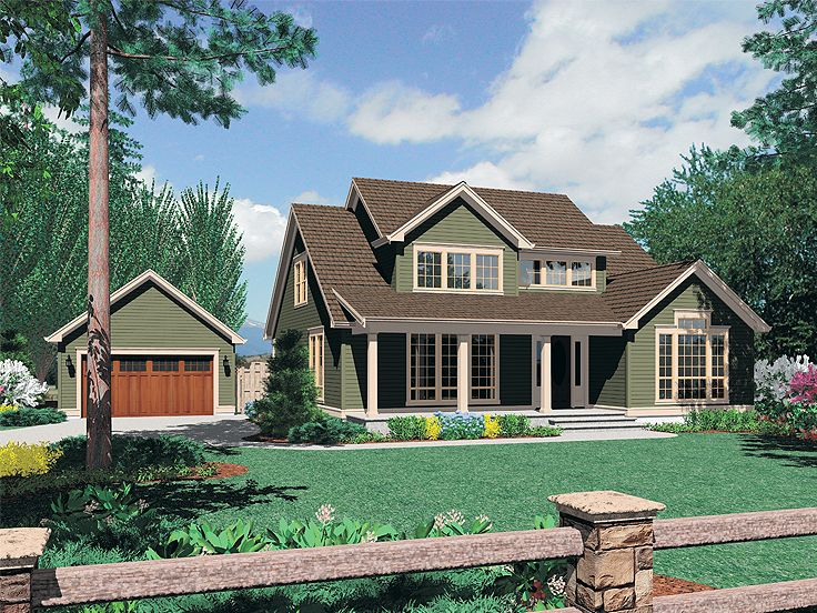 Country House Plan, 034H-0219