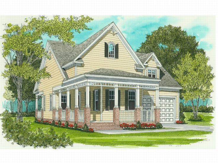 Affordable Home Plan, 029H-0009
