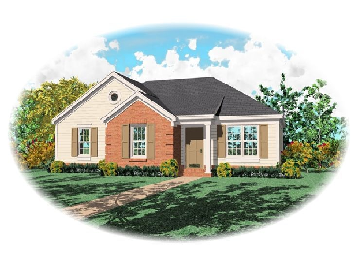 Small House Plan, 006H-0007