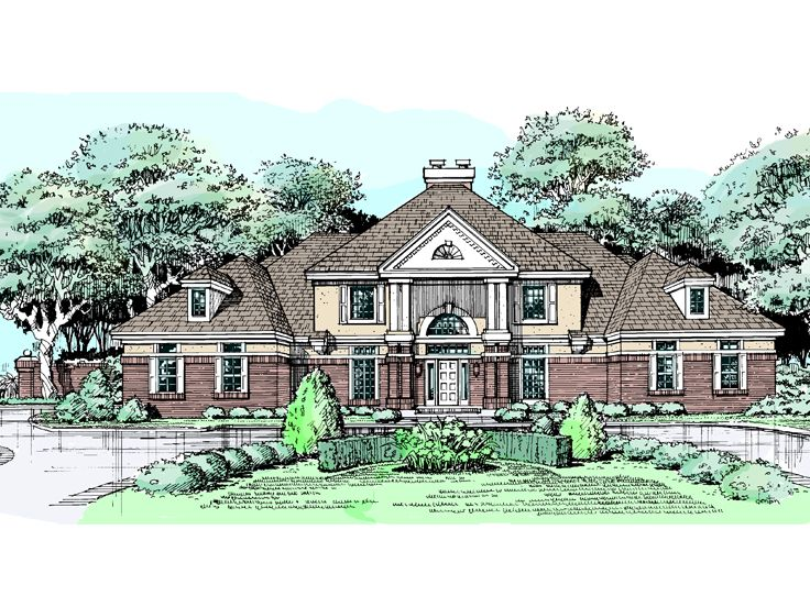 Luxury House Plan, 022H-0078