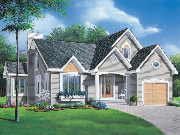 Ranch House Plan, 027H-0209