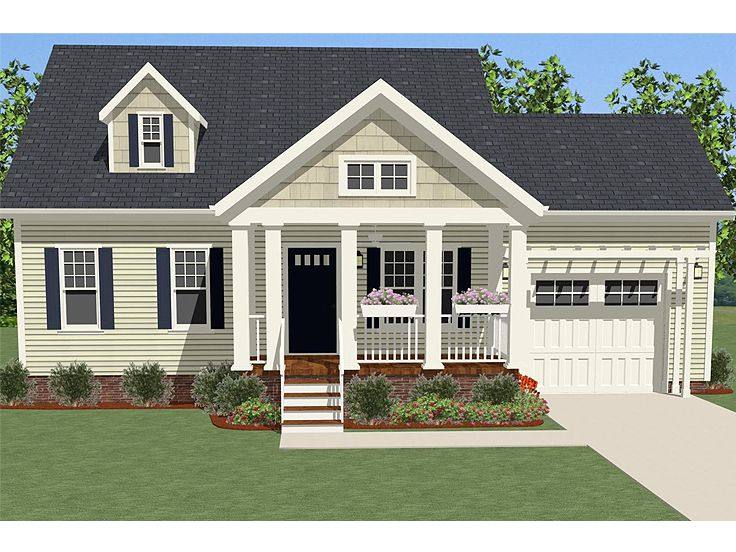 Cape cod house designs cape cod home designs addition for Single story cape cod house plans