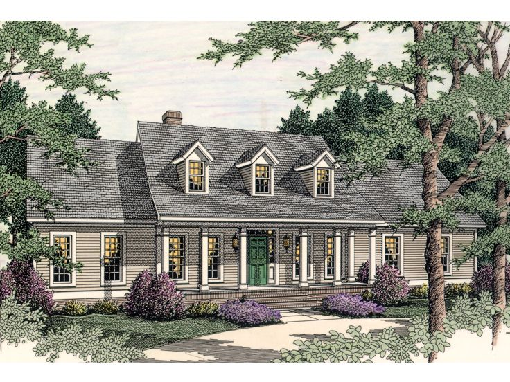 Country House Design, 042H-0018