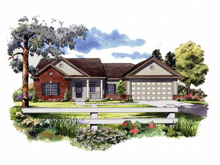 Affordable House Plan, 001H-0031