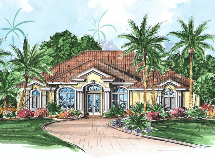 Florida Home Design, 037H-0133