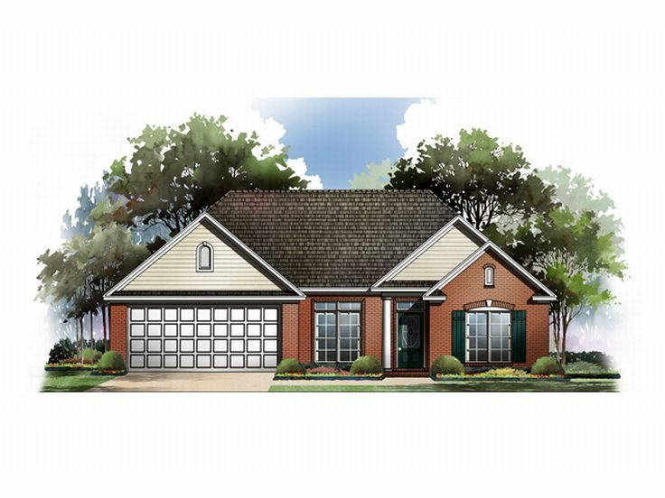 Small House Plan, 001H-0034