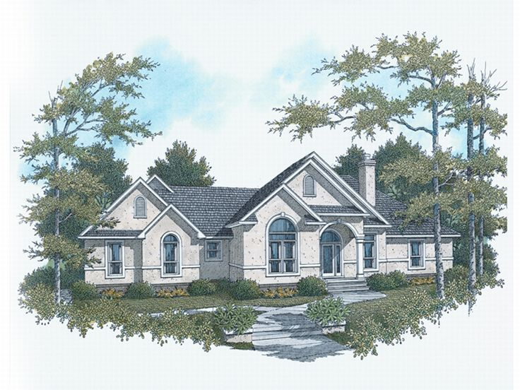 Sunbelt House Design, 004H-0062