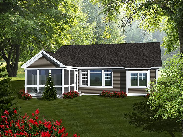 Empty nester house plans affordable empty nester home for Small empty nester home plans