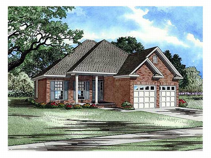 Affordable Home Plan, 025H-0053