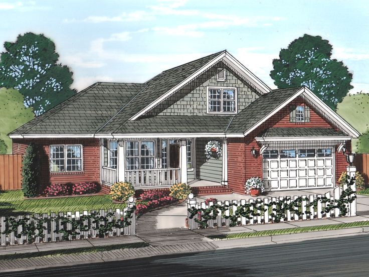 Affordable Home Plan, 059H-0182