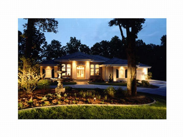 Luxury Home Plan, 020H-0080