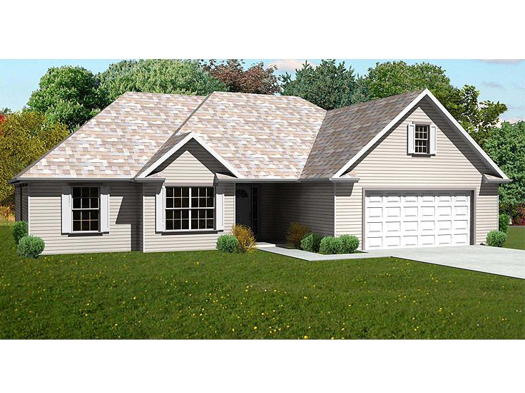 Traditional House Plan, 048H-0059