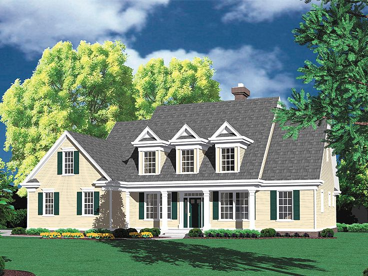 Two-Story Home Design, 034H-0218
