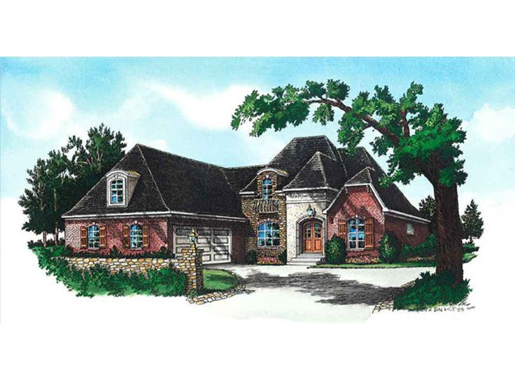 Ranch House Design, 060H-0027