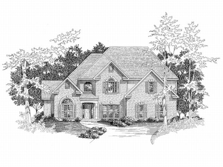 Luxury House Plan, 019H-0107