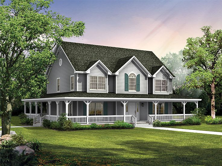 Country House Plan, 057H-0029