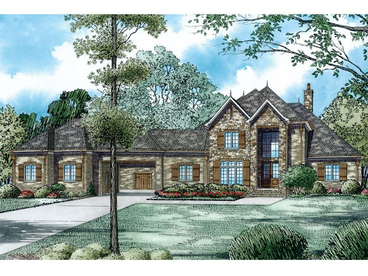 Estate House Plan, 025H-0284