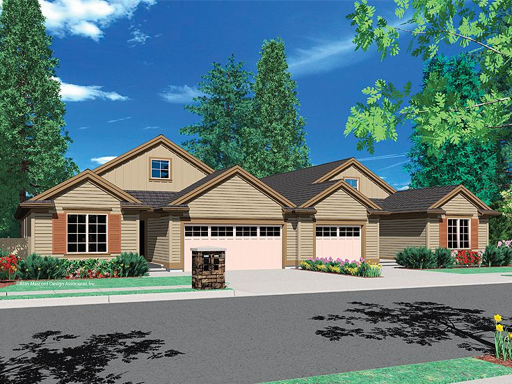 Multi-Family Home Design, 034M-0015