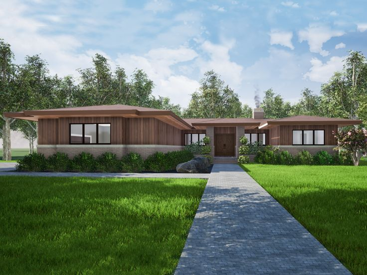 Contemporary House Plan, 074H-0122
