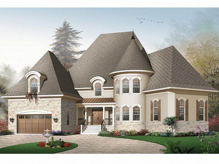 Luxury Home Plan, 027H-0096