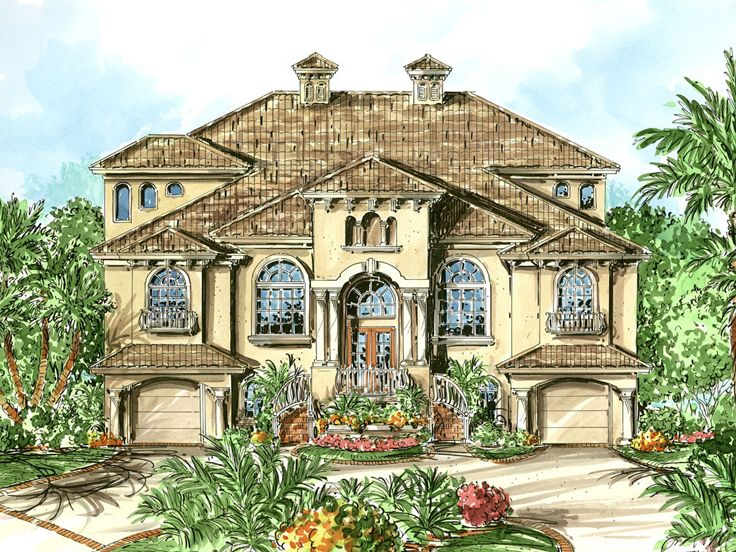 Luxury House Plan, 037H-0116