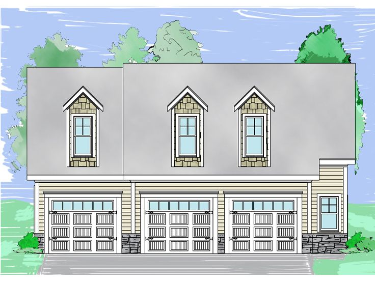 Carriage House Plan, 053G-0020