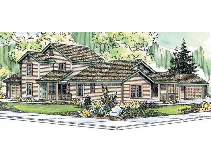 Plan 051m 0004 find unique house plans home plans and for 4 unit multi family house plans