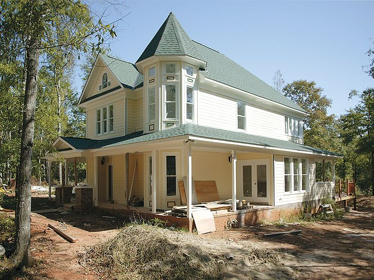 Victorian House Plan, 054H-0048