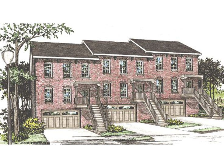 Townhouse Plan, 031M-0025