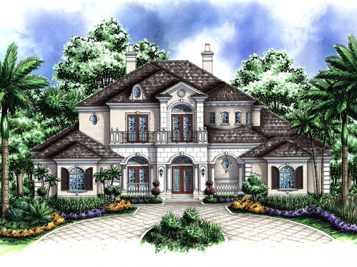 2-Story House Plan, 040H-0069