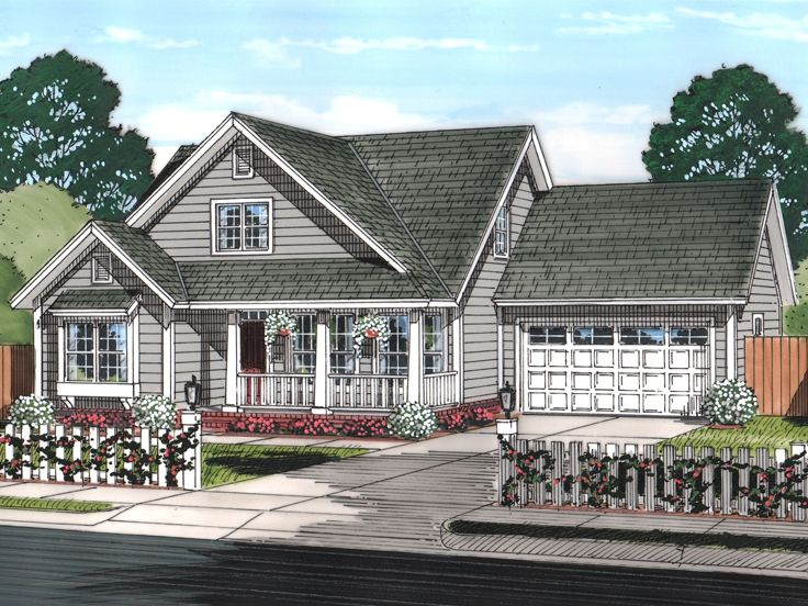 Family Home Plan, 059H-0191