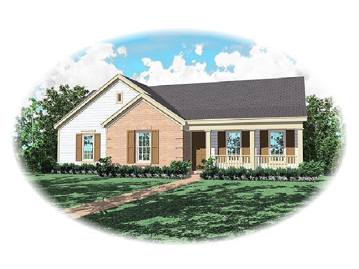 Ranch House Plan, 006H-0025