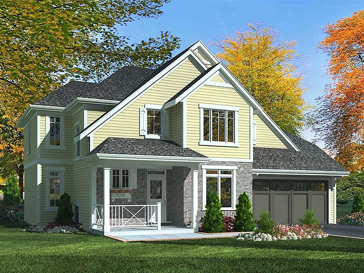 2-Story Country Home, 046H-0053