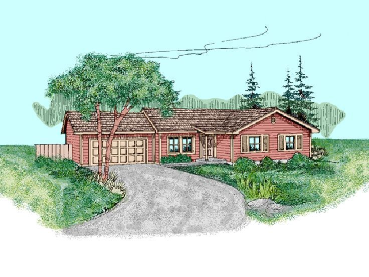Traditional House Plan, 013H-0071