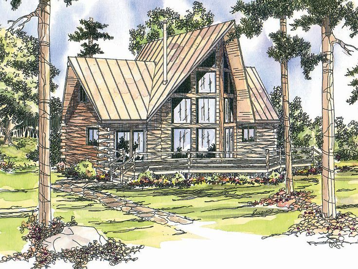 Log House Plans The House Plan Shop